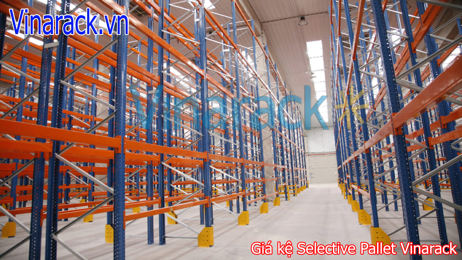 Kệ Pallet Selective Chứa Hàng Seletive Pallet Racking